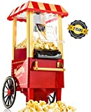 Gadgy  Machine à Pop Corn | Retro Popcorn Maker | Air Chaud Sans Gras Huile
