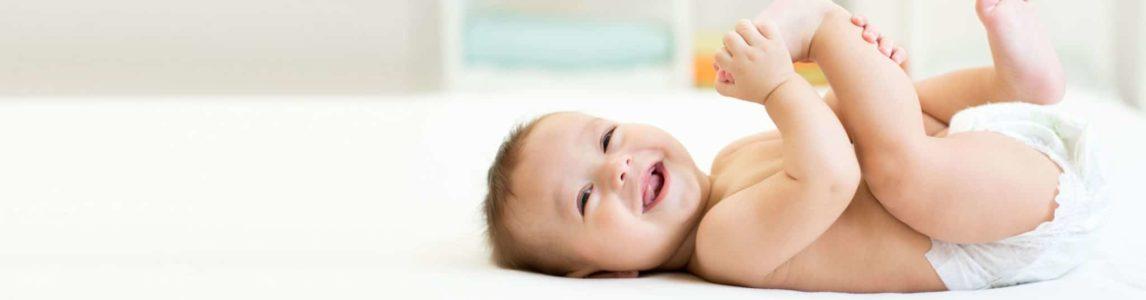 L'érythème fessier chez un bébé