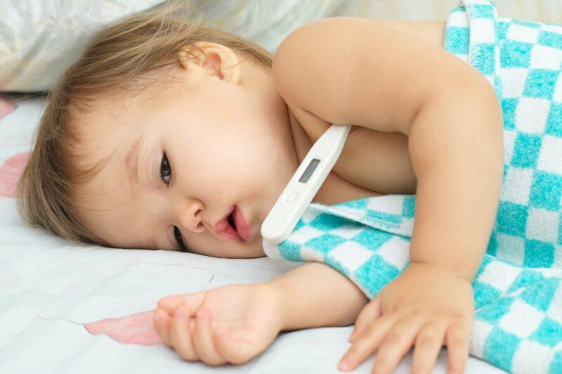 baisser fievre bebe