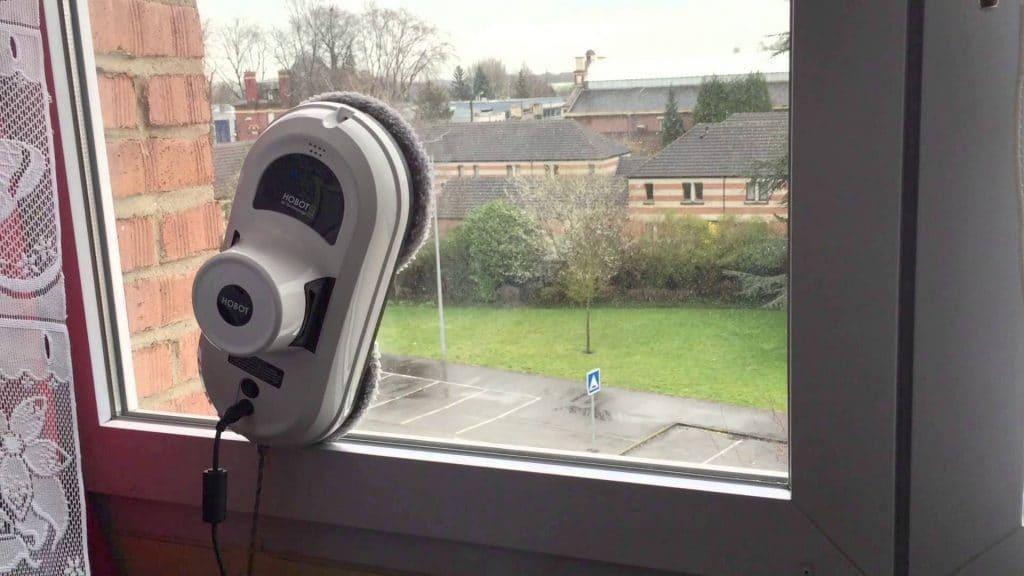 robot laveur de vitre