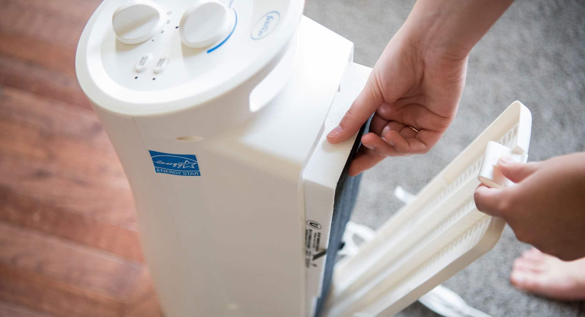 purificateur d'air efficacité
