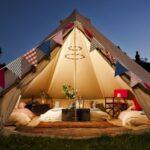 éclairer une tente pour enfant