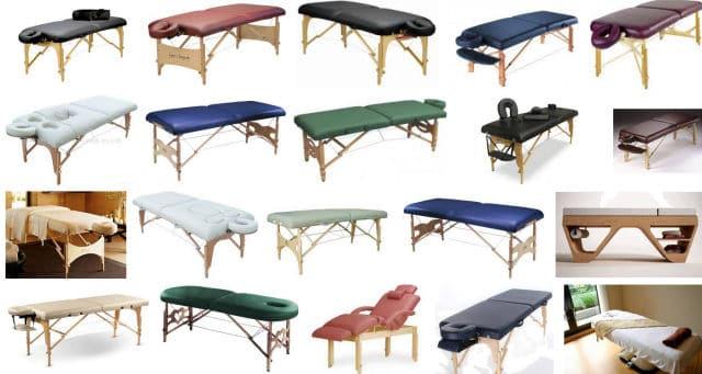 types-de-table-de-massage