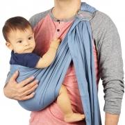 Écharpe de portage sans nœud